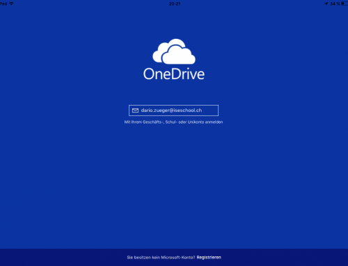 OneDrive Apps für Mobile Devices