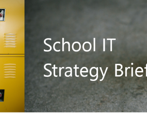 Microsoft School IT Strategy Meeting